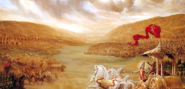 Sri Aurobindo on the Kurukshetra war in the Mahabharata